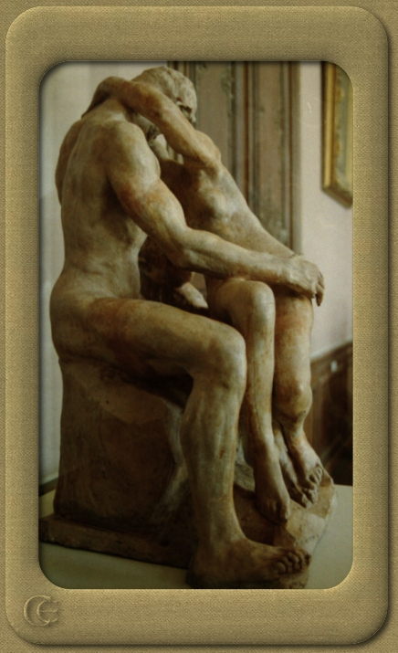 © 2007 photo by Carmen Ezgeta: Rodin's The Kiss, Rodin Museum in Paris / Pariz - Francuska; Paris - France